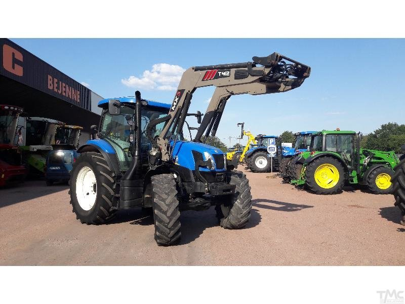 Tracteur NEW-HOLLAND T6.165