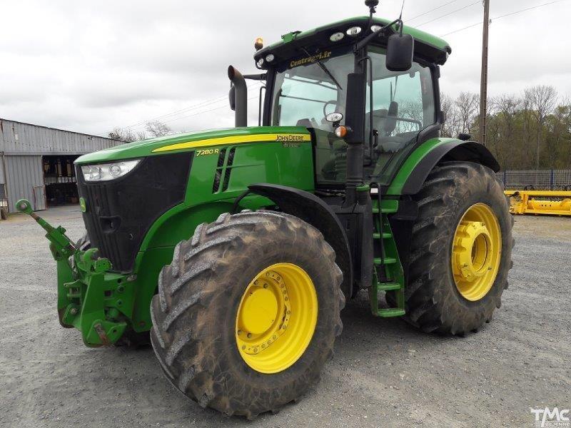 Tracteur JOHN-DEERE 7280 R