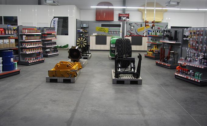 TMC Bejenne ouvre un magasin de pièces agricoles neuves