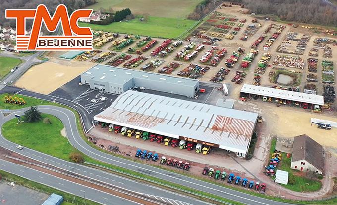 Le nouveau bâtiment TMC Bejenne