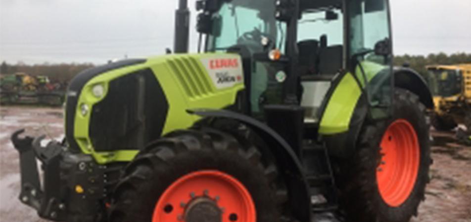 Arrivée de deux tracteurs CLAAS ARION occasion