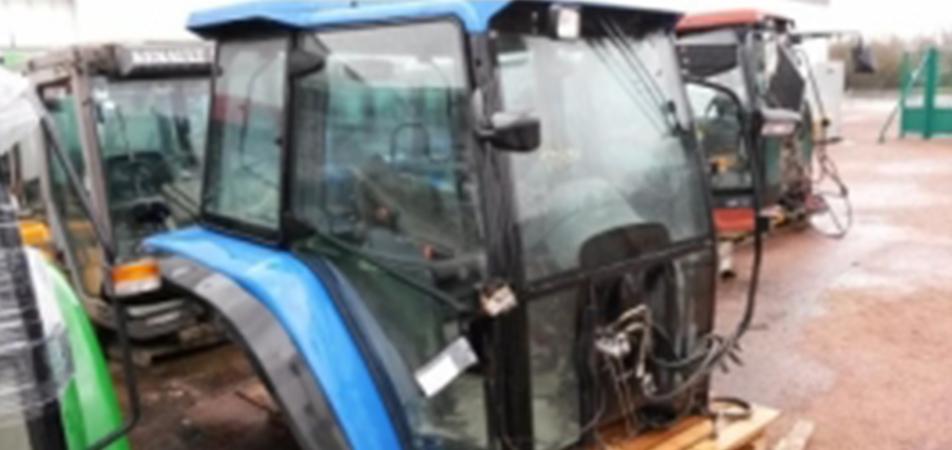 Economisez 50% sur cabine tracteur et cabine moissonneuse
