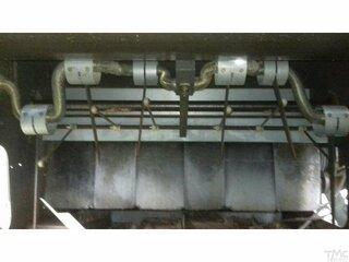 Vilebrequin aérateur pour CLAAS LEXION 440